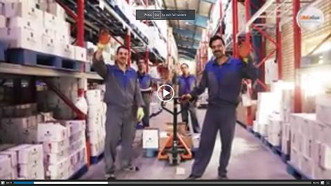 ویدیو متفاوت از پرسنل مجموعه قدرتمند بادران