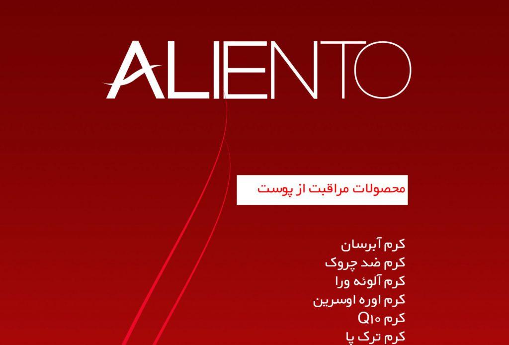 جزوه آموزشی محصولات آلینتو