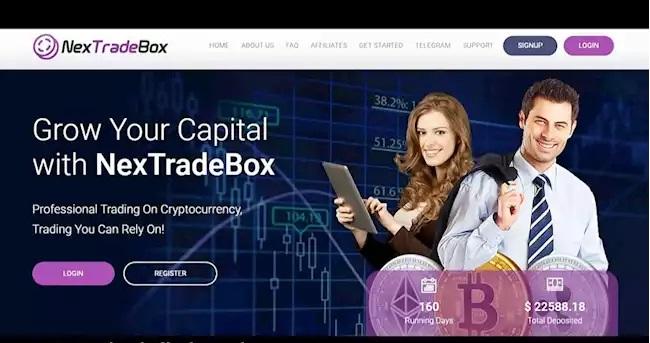 سایت کلاهبرداری نکس ترید باکس (NEXTRADEBOX.COM)